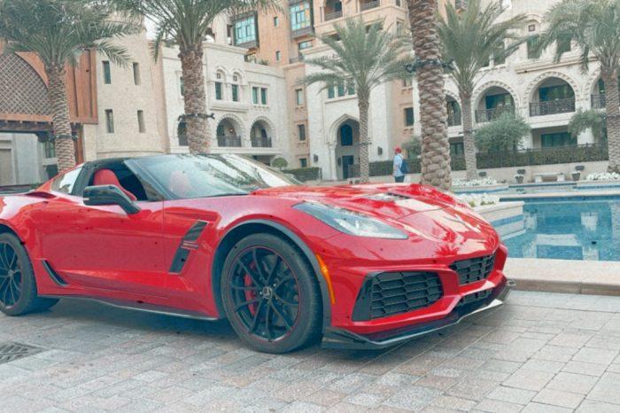 Rent Chevrolet Corvette Grand Sport 2019