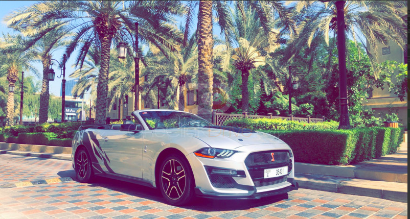 Rent Ford Mustang V6 Convertible 2020