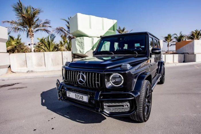Rent Mercedes G63