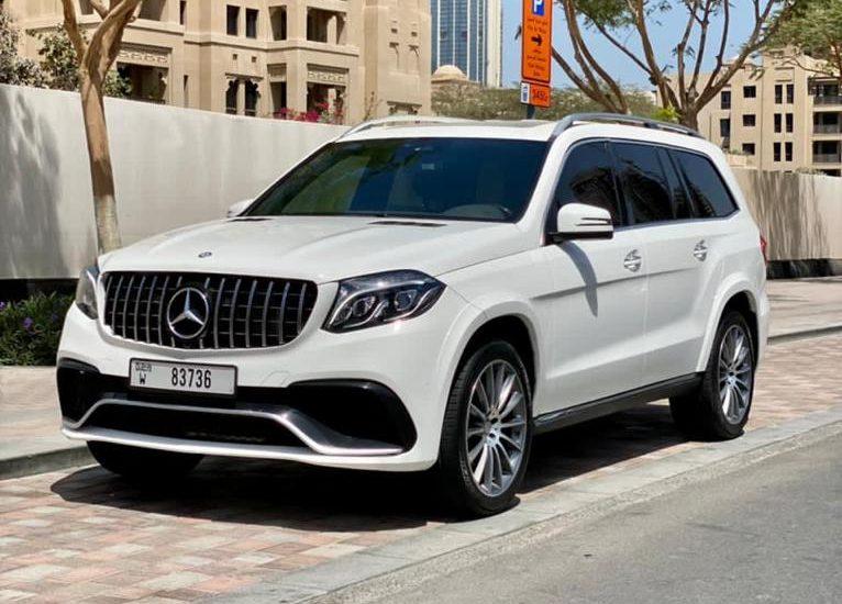 Rent Mercedes GLS 500